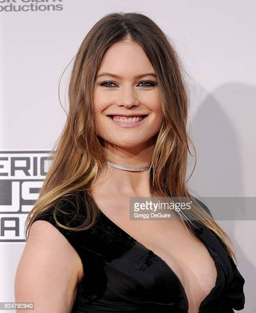 Model Behati Prinsloo arrives at the 2016 American Music Awards at Microsoft Theater on November 20 2016 in Los Angeles California