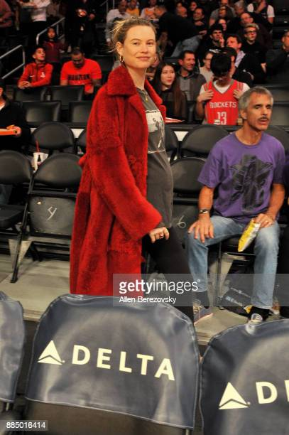 Model Behati Prinsloo attends a basketball game between the Los Angeles Lakers and the Houston Rockets at Staples Center on December 3 2017 in Los...