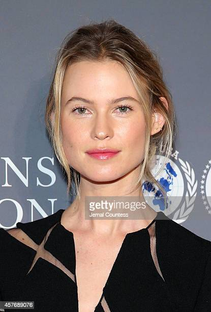 Model Behati Prinsloo attends the 2014 Global Leadership Dinner at Cipriani 42nd Street on October 22 2014 in New York City