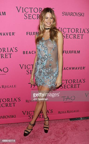 Model Behati Prinsloo attends the 2015 Victoria's Secret Fashion Show after party at TAO Downtown on November 10 2015 in New York City