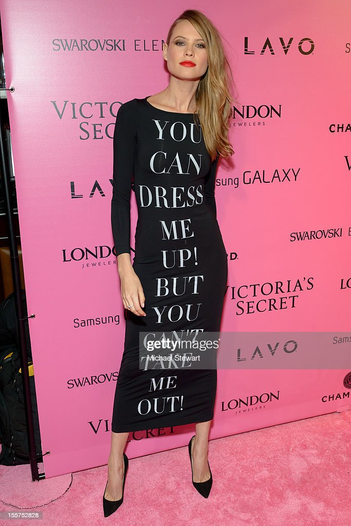 Model Behati Prinsloo attends the after party for the 2012 Victoria's Secret Fashion Show at Lavo NYC on November 7, 2012 in New York City.