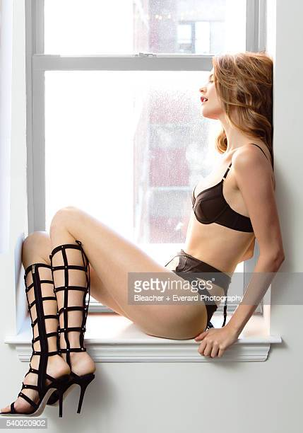 Model Behati Prinsloo is photographed for GQ Mexico on March 27 2013 in New York City Styling Brendan Cannon Makeup Sae Ryun Song Hair Sam Leonardi...