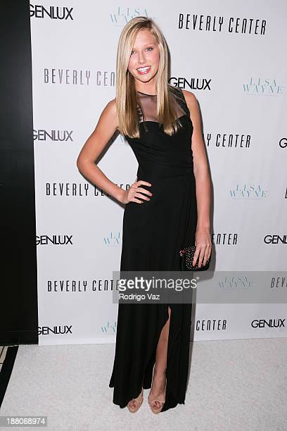 Model Bekah Christiansen attends as Genlux cover girl Lisa Vanderpump hosts the magazine's new issue launch party on November 14 2013 in Beverly...