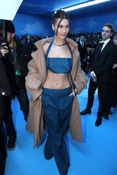 FRA: Louis Vuitton : Front Row  - Paris Fashion Week - Menswear F/W 2020-2021