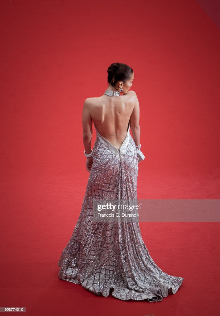 Model Bella Hadid attends the screening of 'BlacKkKlansman' during the 71st annual Cannes Film Festival at Palais des Festivals on May 14, 2018 in Cannes, France.