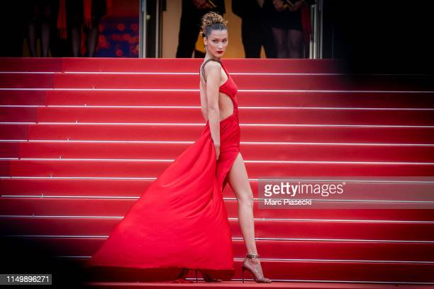 Model Bella Hadid attends the screening of Pain And Glory during the 72nd annual Cannes Film Festival on May 17 2019 in Cannes France