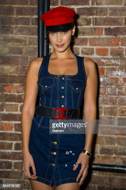 Model Bella Hadid attends V Magazine celebrates JeanPaul Goude at Acme on September 7 2017 in New York City