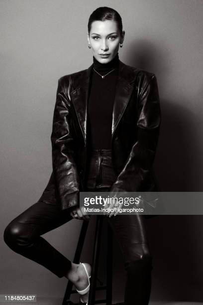 Model Bella Hadid is photographed for Madame Figaro on January 24, 2018 in Paris, France. PUBLISHED IMAGE. CREDIT MUST READ: Matias...