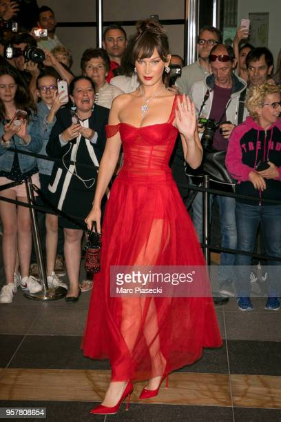 Model Bella Hadid is seen during the 71st annual Cannes Film Festival at on May 12 2018 in Cannes France