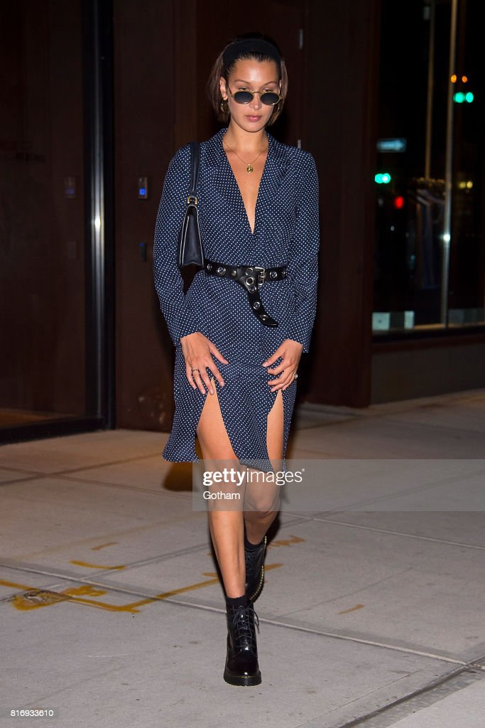 Celebrity Sightings in New York City - July 17, 2017 : News Photo