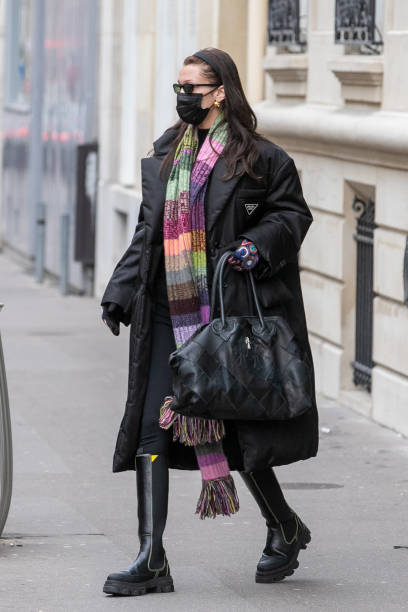 FRA: Celebrity Sightings In Paris - January 26, 2021