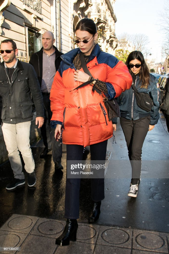 Bella Hadid Sighting in Paris  -  January 19