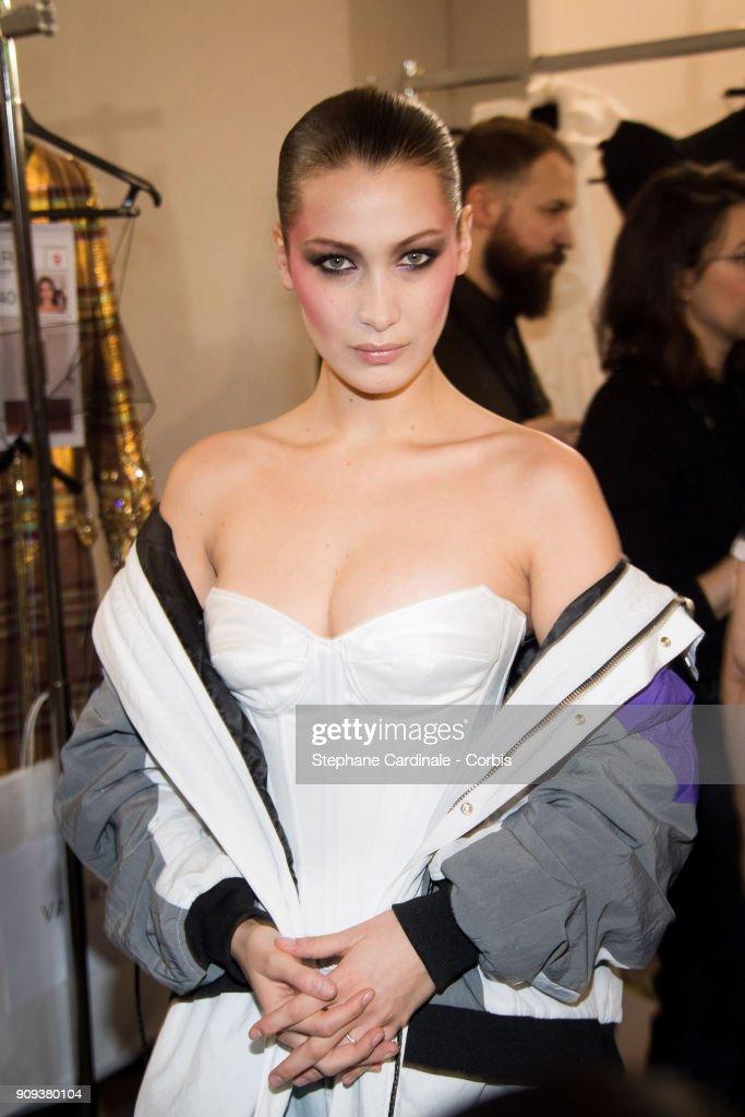 Alexandre Vauthier : Backstage - Paris Fashion Week - Haute Couture Spring Summer 2018