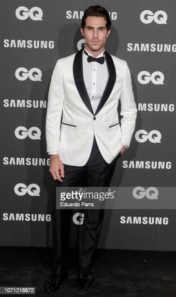 Model Beltran Lozano attends the 'GQ Men of the Year' awards photocall at Palace hotel on November 22 2018 in Madrid Spain