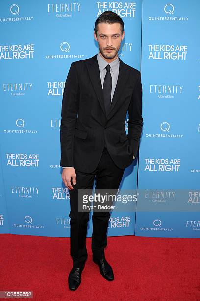 Model Ben Hill attends the premiere of the 'Kids Are All Right' at Landmark's Sunshine Cinema on June 30 2010 in New York City