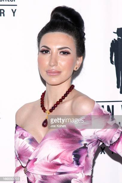 Model Beril Akeay attends the John Wayne cancer institute auxiliary's 28th annual odyssey ball at the Beverly Wilshire Four Seasons Hotel on April 13...