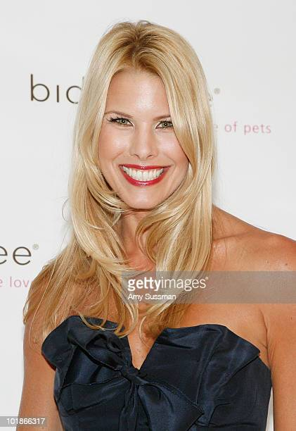 Model Beth Ostrosky attends the Bideawee 2010 Annual Gala Fundraiser at Gustavino's on June 7 2010 in New York City