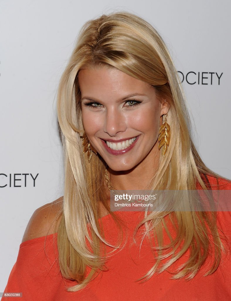 Model Beth Ostrosky attends the Cinema Society and Lancome screening of 'Rachel Getting Married' at the Landmark Sunshine Theater on September 25, 2008 in New York City.