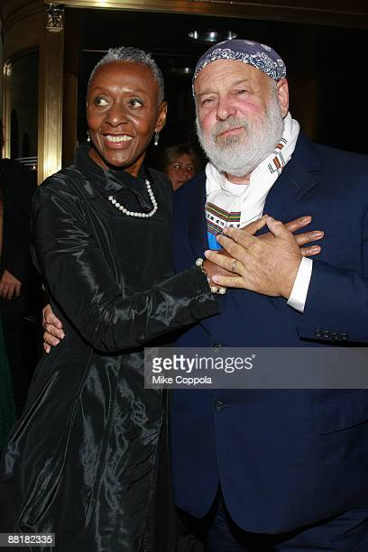 Model Bethann Hardison and photographer Bruce Weber attend the Gordon Parks Foundation's Celebrating Fashion Awards Gala at Gotham Hall on June 2...
