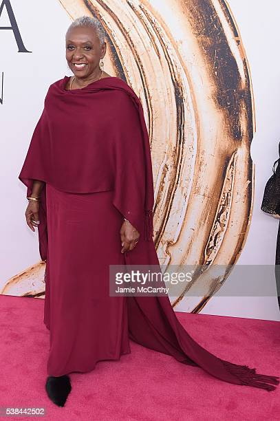 Model Bethann Hardison attends the 2016 CFDA Fashion Awards at the Hammerstein Ballroom on June 6 2016 in New York City