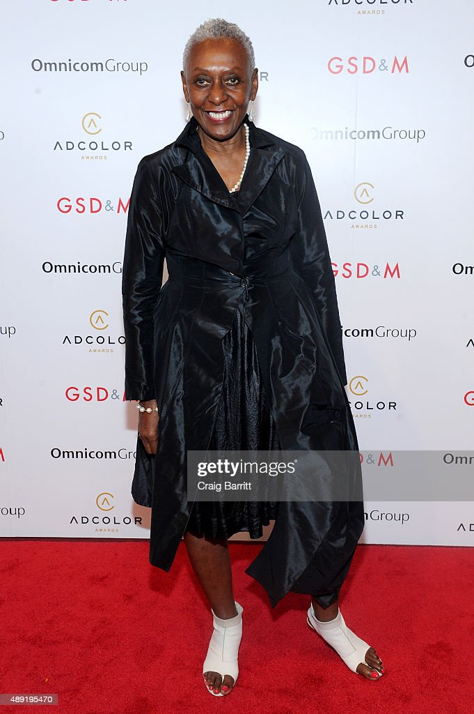 Model Bethann Hardison attends the 9th Annual ADCOLOR Awards at Pier 60 on September 19, 2015 in New York City.