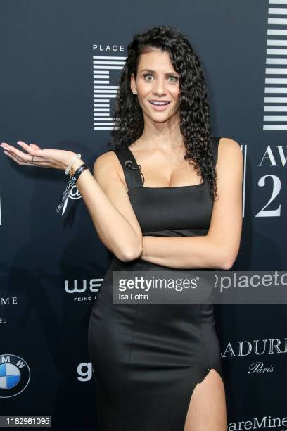 Model Betty Taube at the Place To B Awards at AxelSpringerHaus on November 16 2019 in Berlin Germany