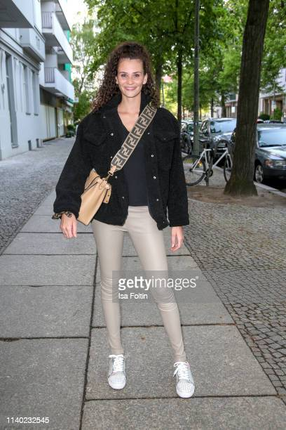 Model Betty Taube attends the Kickoff Europa #MEGA event hosted by Place to B at The Corner on April 29 2019 in Berlin Germany