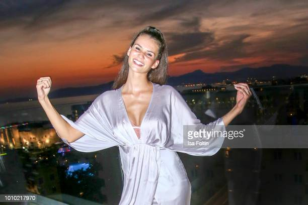 Model Betty Taube attends the Remus Lifestyle Night on August 2 2018 in Palma de Mallorca Spain