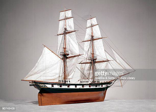 Model Between 1800 and 1830 a number of improvements in the design and construction of warships took place The 'Fantome' launched at Chatham in 1838...
