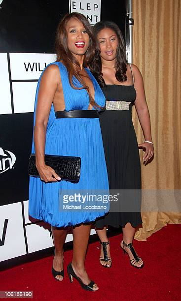 Model Beverly Johnson and daughter Anansa Sims arrive to the 40th Anniversary Celebration of Wilhelmina Models The Angel Orensanz Foundation in New...
