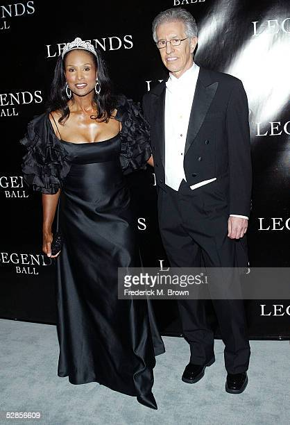 Model Beverly Johnson and her guest attend Oprah Winfrey's Legends Ball at the Bacara Resort and Spa on May 14 2005 in Santa Barbara California