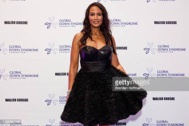 Model Beverly Johnson arrives at the inaugural Global Down Syndrome Foundation's Be Beautiful Be Yourself Gala on November 16 2011 in Washington DC