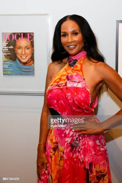 Model Beverly Johnson attends Icons of Style A Century of Fashion Photography 19112011 exhibition opening at The J Paul Getty Museum on Monday June...