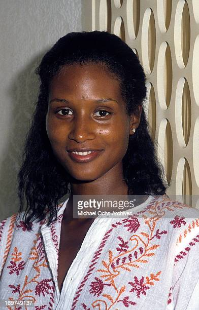 Model Beverly Johnson poses for a portrait in circa 1979