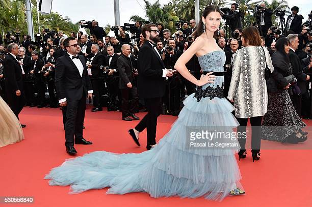 """Model Bianca Balti attends the """"Cafe Society"""" premiere and the Opening Night Gala during the 69th annual Cannes Film Festival at the Palais des..."""