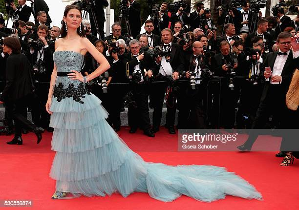 Model Bianca Balti attends the Cafe Society premiere and the Opening Night Gala during the 69th annual Cannes Film Festival at the Palais des...
