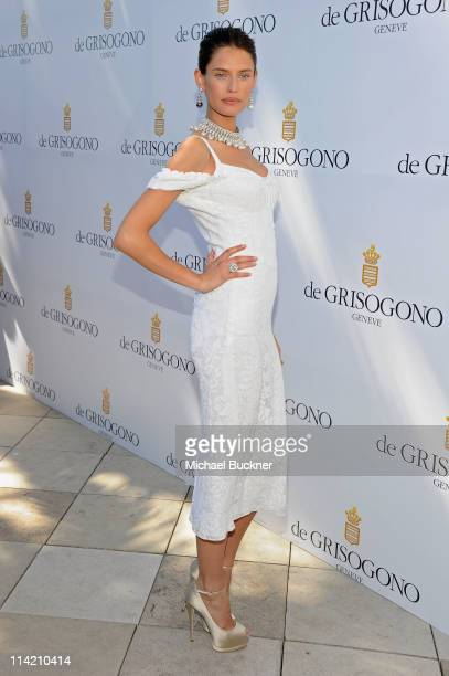 Model Bianca Balti attends the de Grisogono photocall during the 64th Annual Cannes Film Festival at the Martinez Hotel on May 16 2011 in Cannes...