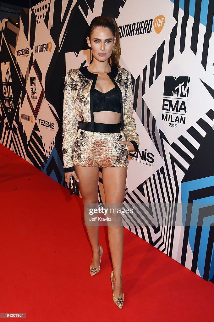 Model Bianca Balti attends the MTV EMA's 2015 at Mediolanum Forum on October 25, 2015 in Milan, Italy.
