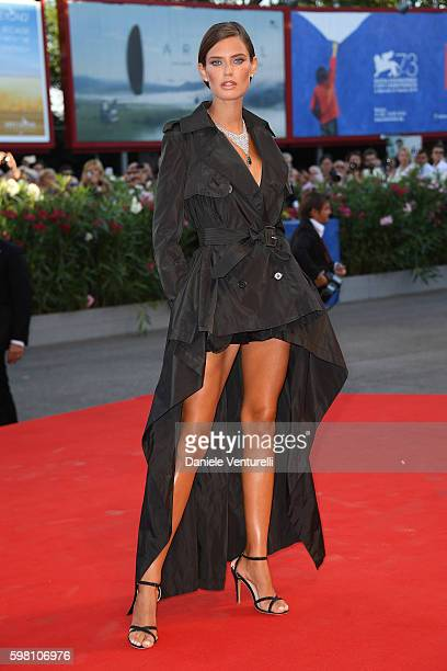 Model Bianca Balti attends the opening ceremony and premiere of 'La La Land' during the 73rd Venice Film Festival at Sala Grande on August 31, 2016...