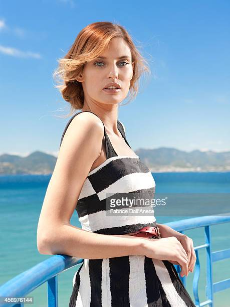 Model Bianca Balti is photographed for Vanity Fair Italy in Cannes France