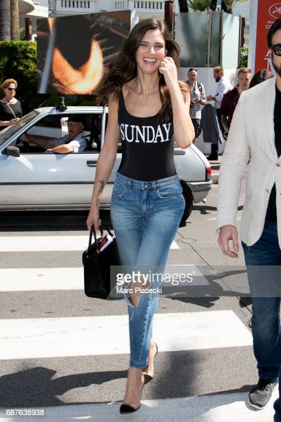 Model Bianca Balti is spotted during the 70th annual Cannes Film Festival at on May 24, 2017 in Cannes, France.