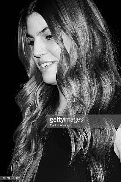 Model Bianca Brandolini attends the Marie Claire Prix de la Moda 2015 at the Callao cinema on November 19, 2015 in Madrid, Spain.