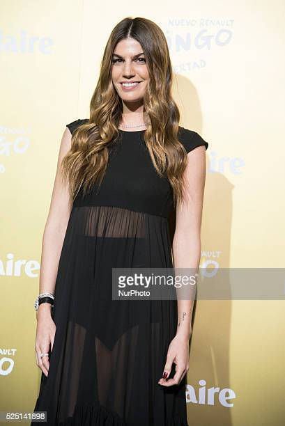 Model Bianca Brandolini attends the Marie Claire Prix de la Moda 2015 at the Callao cinema on November 19, 2015 in Madrid, Spain