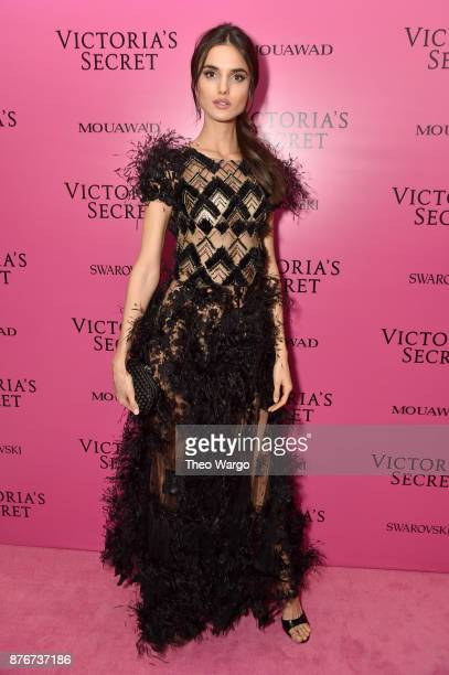 Model Blanca Padilla attends the 2017 Victoria's Secret Fashion Show In Shanghai After Party at MercedesBenz Arena on November 20 2017 in Shanghai...