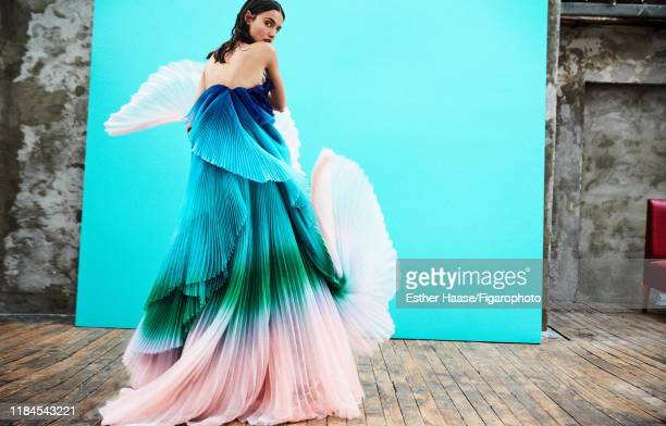 Model Blanca Padilla is photographed for Madame Figaro on January 26, 2018 in Paris, France. Dress by Givenchy Haute Couture. PUBLISHED IMAGE. CREDIT...