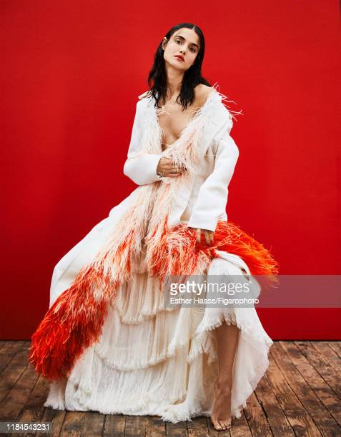 Model Blanca Padilla is photographed for Madame Figaro on January 26, 2018 in Paris, France. Coat and skirt by Givenchy Haute Couture. PUBLISHED...