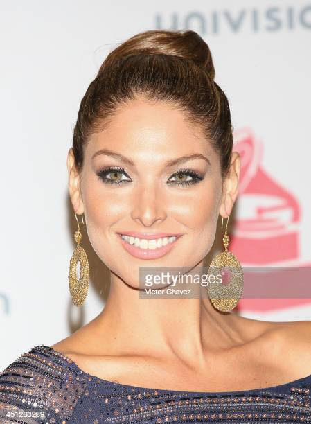 Model Blanca Soto poses in the press room during The 14th Annual Latin GRAMMY Awards at the Mandalay Bay Events Center on November 21 2013 in Las...