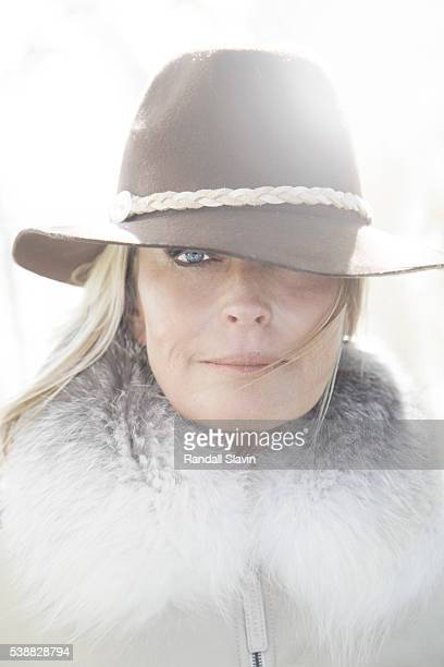 Model Bo Derek is photographed for Santa Barbara on October 3 2013 in Santa Ynez California