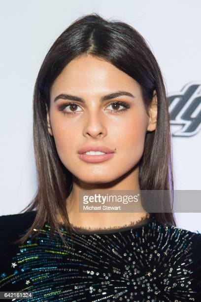 Model Bo Krsmanovic attends the Sports Illustrated Swimsuit 2017 launch event at Center415 Event Space on February 16 2017 in New York City