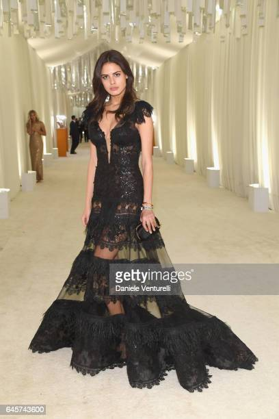 Model Bojana Krsmanovic attends Bulgari at the 25th Annual Elton John AIDS Foundation's Academy Awards Viewing Party at on February 26 2017 in Los...